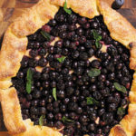 Sophisticated (Almost) Blueberry Pie